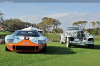 1968 Ford GT40.  Chassis number P/1075