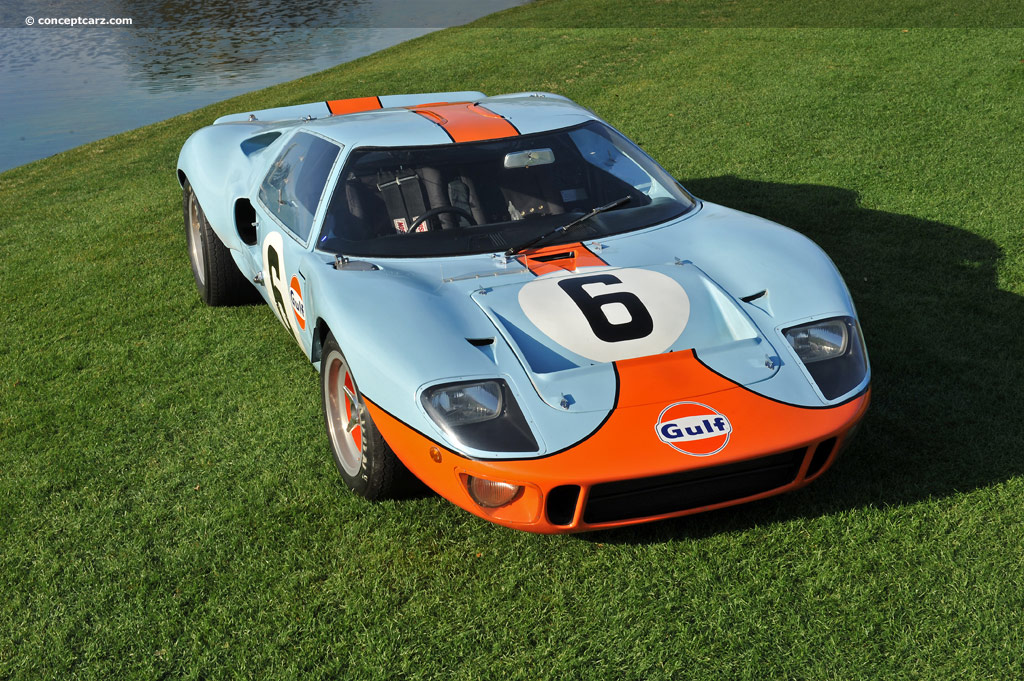 1968 Ford GT40 Valuation and Auction Sales Data
