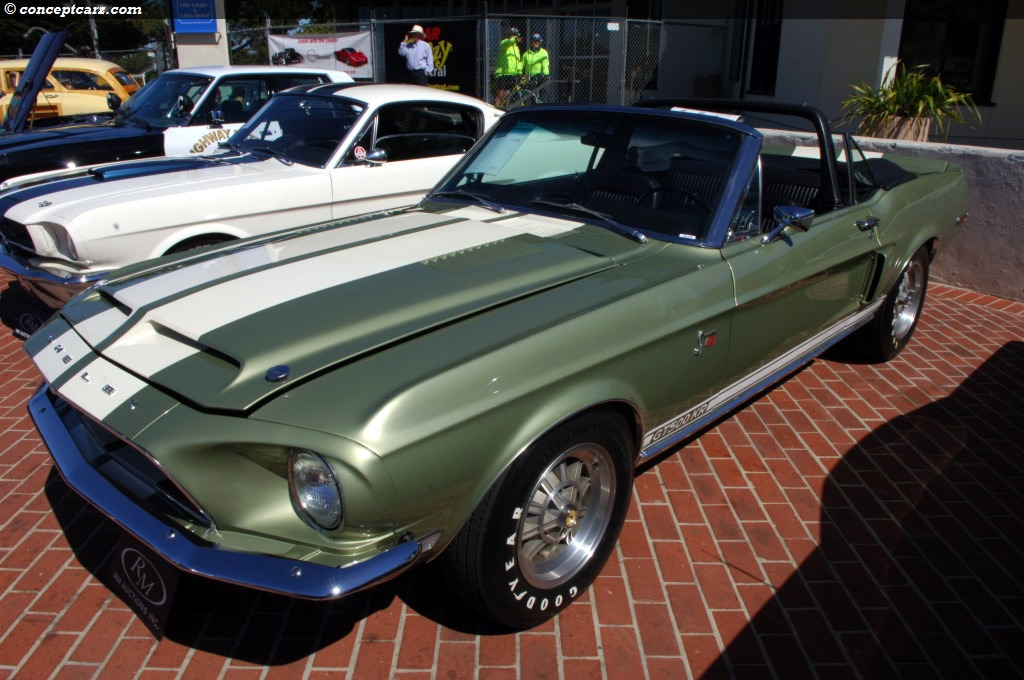 Auction Results And Sales Data For 1968 Shelby Mustang