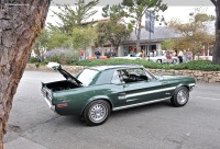 1968 Ford Mustang.  Chassis number 8R01S156529