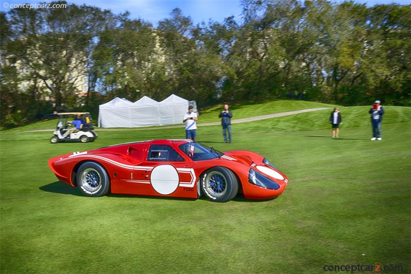 Ford Gt Competition Coupe J  Chassis Information