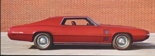 1968 Ford Thunderbird Saturn History Pictures Value