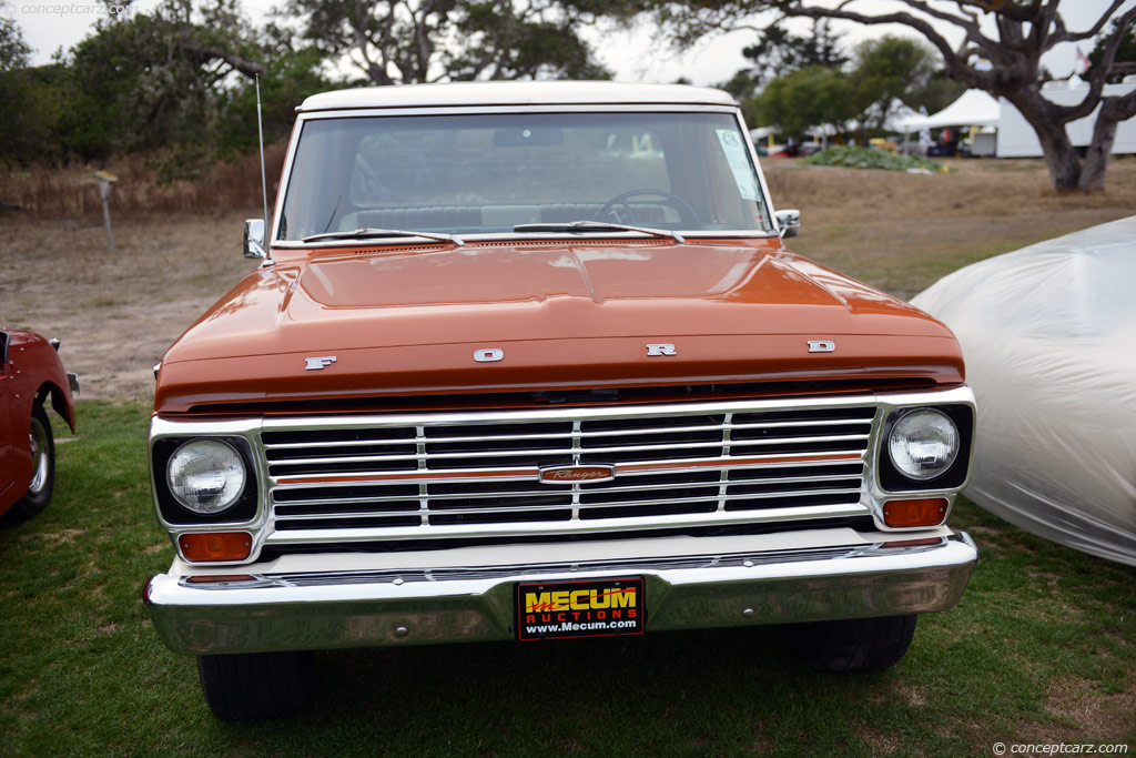 1969 Ford F100 History Pictures Value Auction Sales