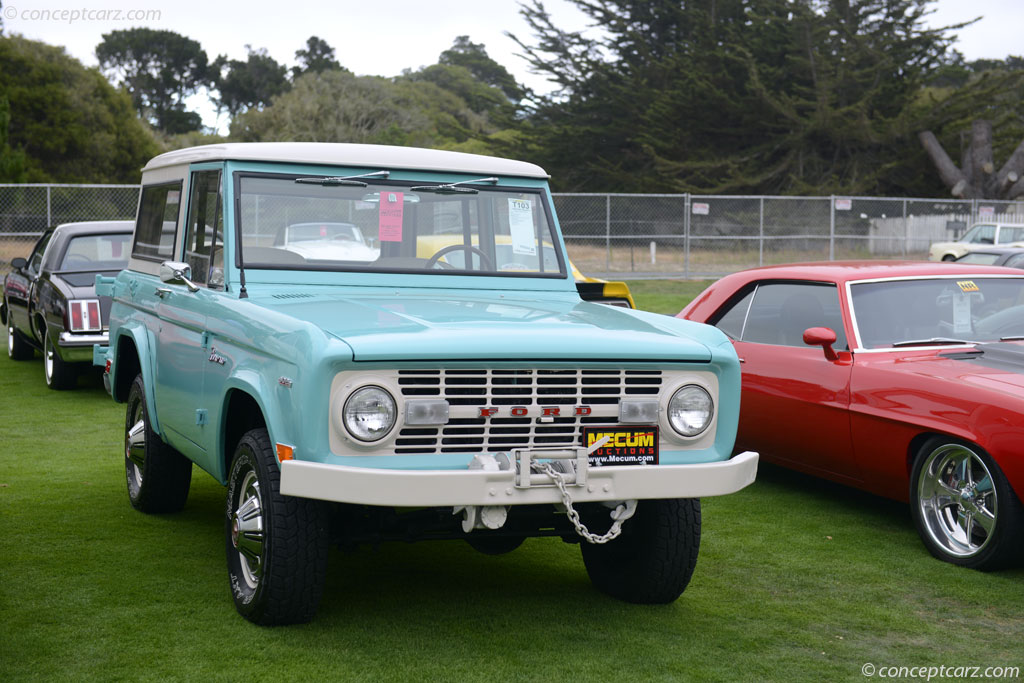 Auction Results and Sales Data for 1969 Ford Bronco