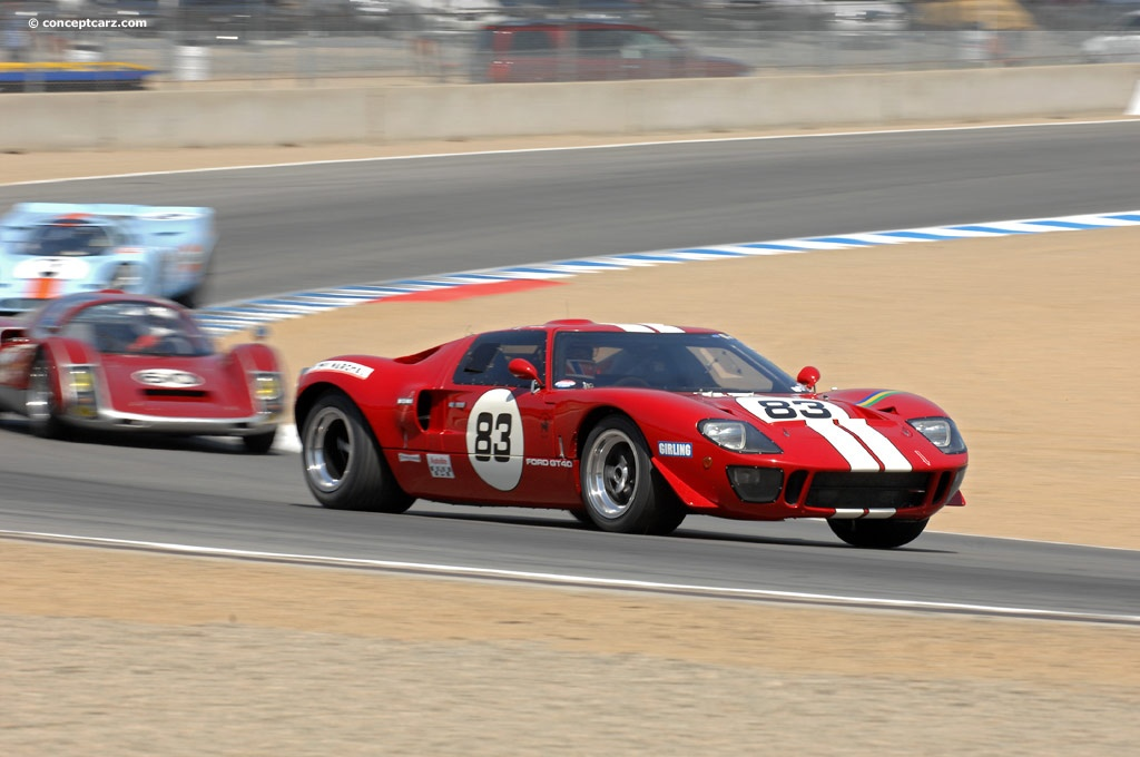 Auction Results and Sales Data for 1969 Ford GT40