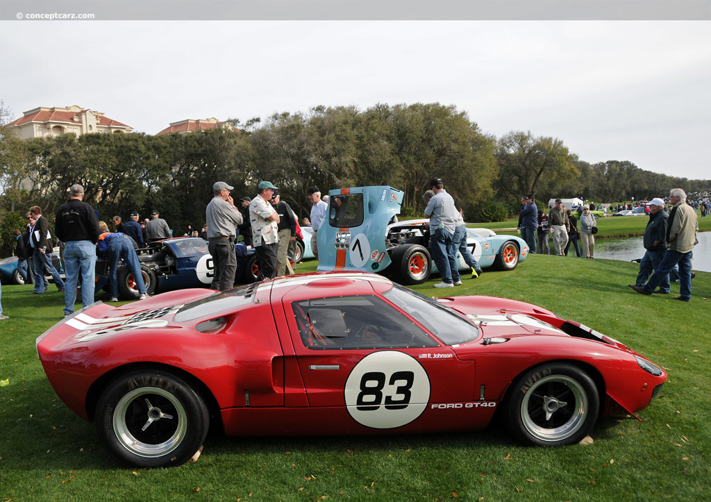 1969 ford gt40 at the amelia island concours d 39 elegance. Black Bedroom Furniture Sets. Home Design Ideas