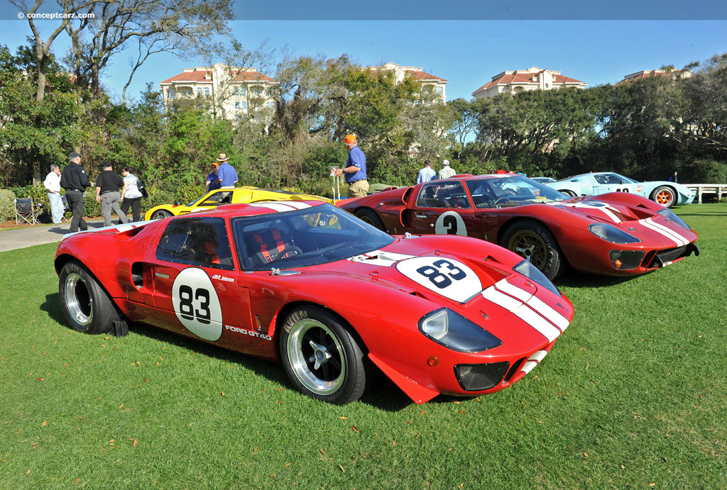 1969 Ford Gt40 Image Chassis Number P1083