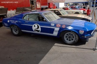 1969 Ford Mustang.  Chassis number 9FG2R112073