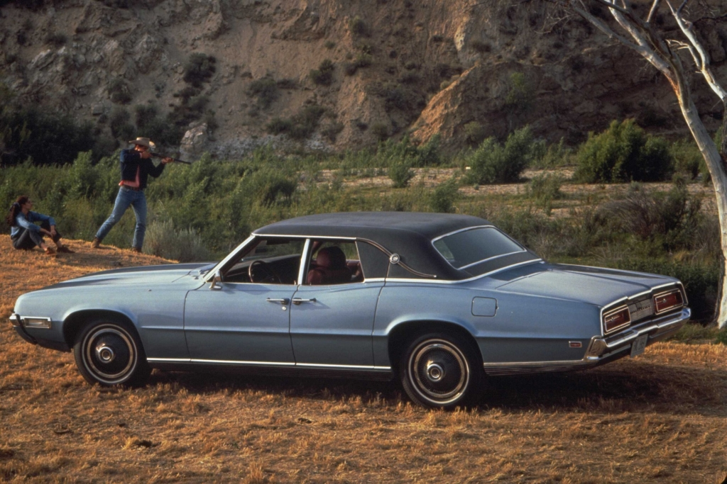 Note The Images Shown Are Representations Of 1969 Ford Thunderbird