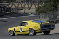 1970 Ford Mustang  Boss 302.  Chassis number 0F026144375