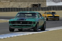 1970 Ford Mustang  Boss 302.  Chassis number 72-AS-34 or 0F02G107811