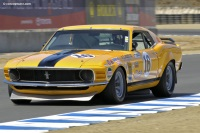 1970 Ford Mustang  Boss 302.  Chassis number 9F02M148623