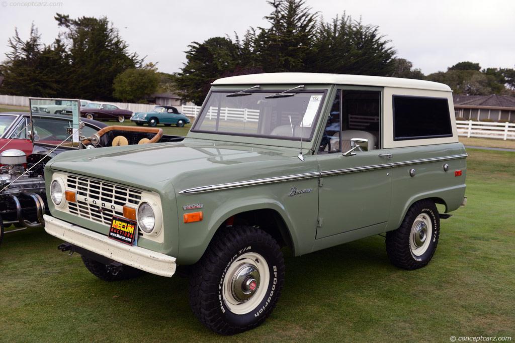 1970 Ford Bronco Image Chassis Number U15glj55882