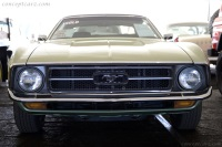 1971 Ford Mustang.  Chassis number 1F01F146763
