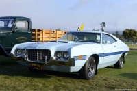 1972 Ford Torino.  Chassis number 2A35H285663