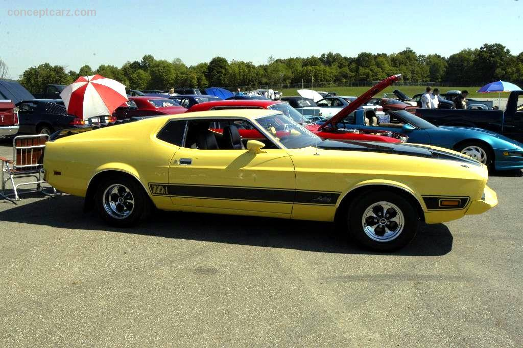 Auction Results And Sales Data For 1973 Ford Mustang Mach