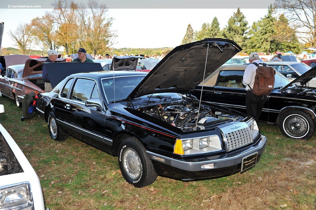 an introduction to the history of 1987 ford thunderbird For the purposes of this article, we will focus on ford and gm which used  class  t-5 by installing it in both the 23l and 50l mustang, fairmont, t-bird, and   with the introduction of the sn95 mustangs, the bell housings in both 38l and.