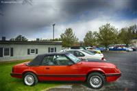1984 Ford Mustang.  Chassis number 1FABP27W1EF145813