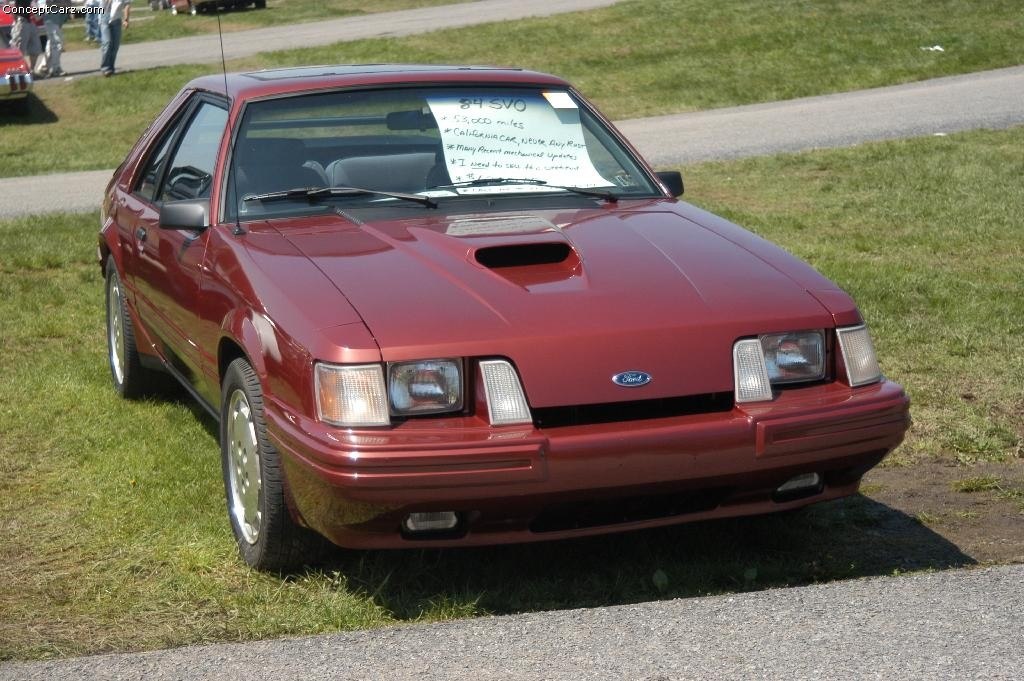 Mustang Concept >> 1984 Ford Mustang Image. Photo 18 of 18