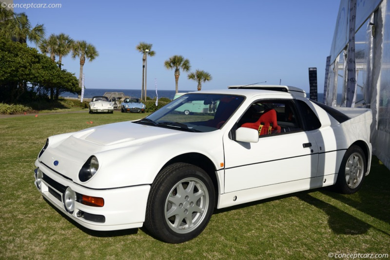 1985 Ford Rs200 Evolution Chassis Sfacxxbj2cgl00070