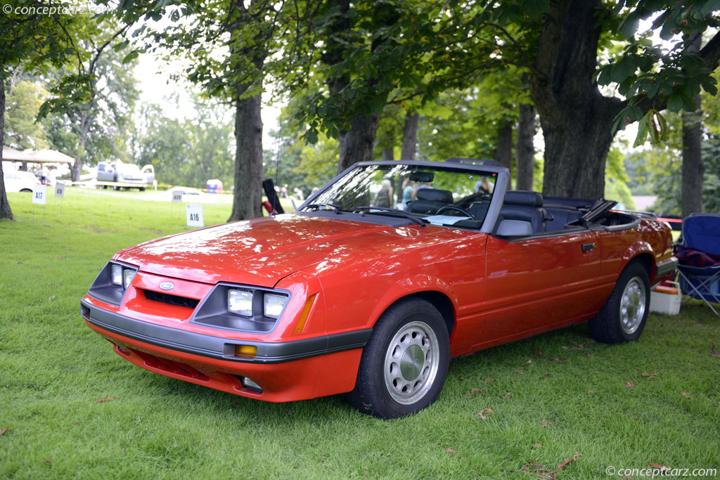 Auction Results And Sales Data For 1986 Ford Mustang