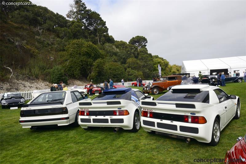 1986 Ford Rs200 Chassis Sfacxxbj2cgl00084