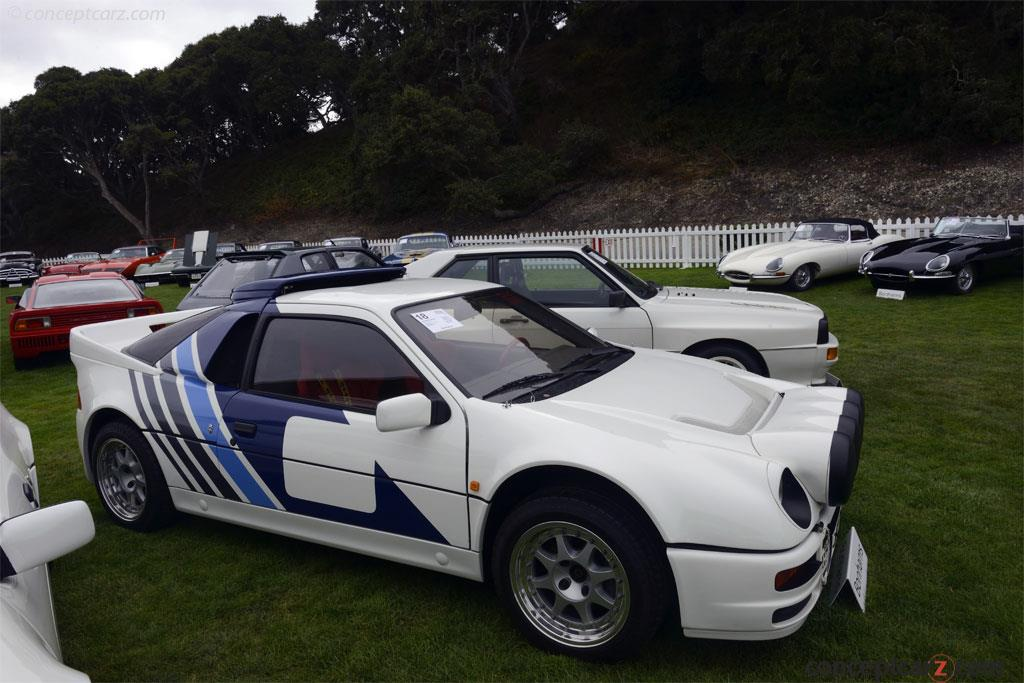 Auction Results and Sales Data for 1986 Ford RS200