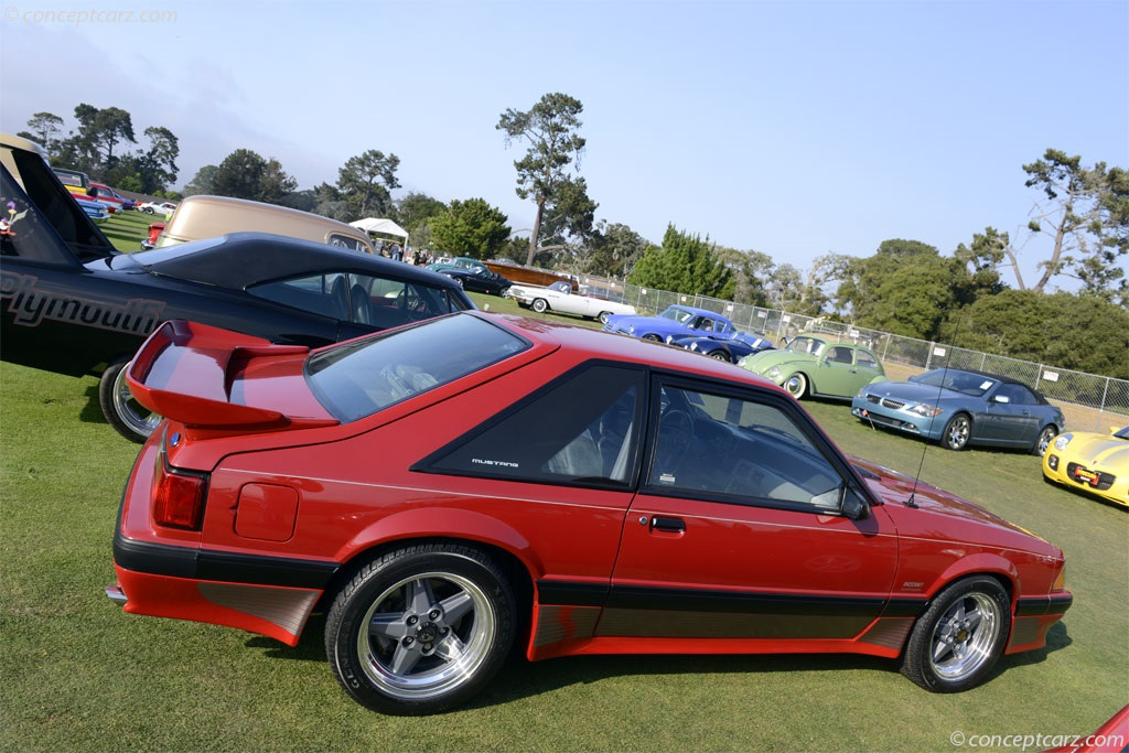 1989 Ford Saleen Mustang SSC.  Chassis number 1FABP41E8KF159117