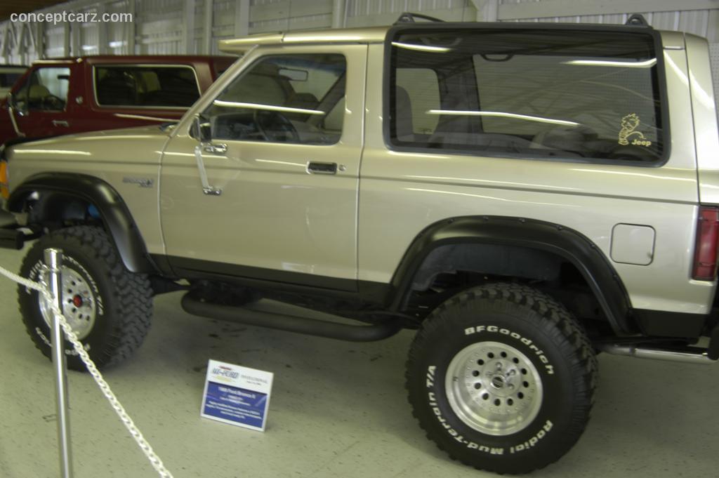 2015 Ford Bronco Price >> 1989 Ford Bronco II | conceptcarz.com