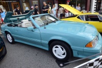 1990 Ford McLaren ASC Mustang.  Chassis number 68