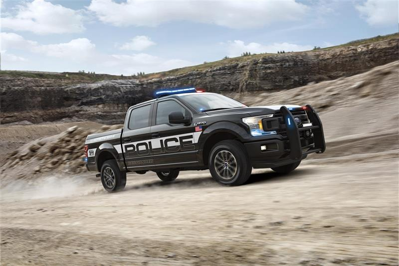 Ford F-150 Police Responder pictures and wallpaper
