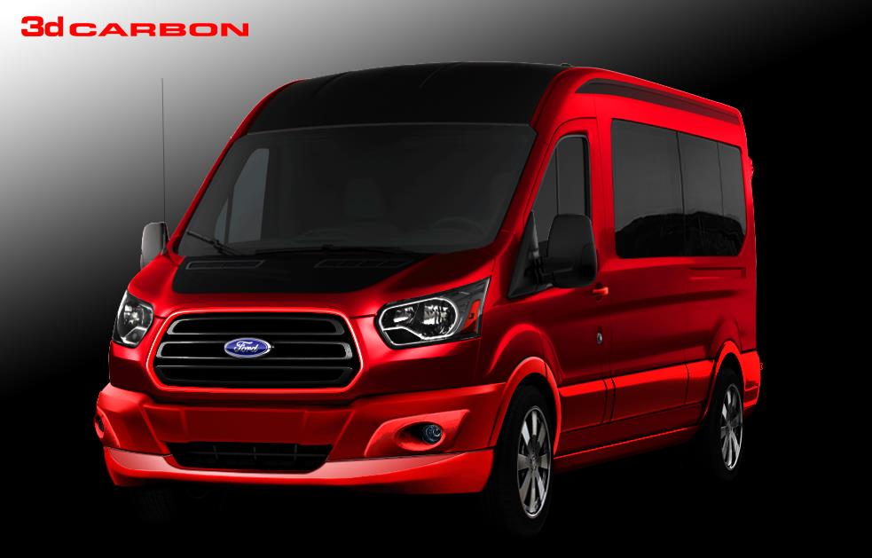 2014 Ford 3dCarbon Travel Transit Pictures And Wallpaper