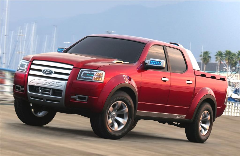 2006 Ford 4-Trac Concept Pictures, History, Value ...