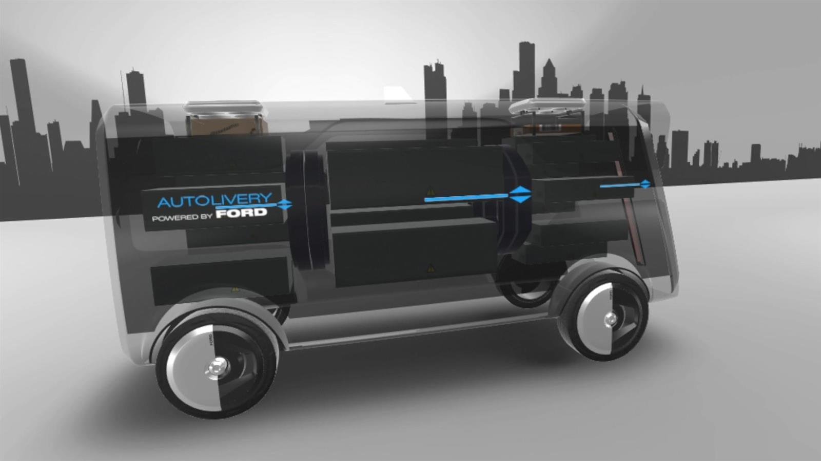 2017 Ford Autolivery Concept