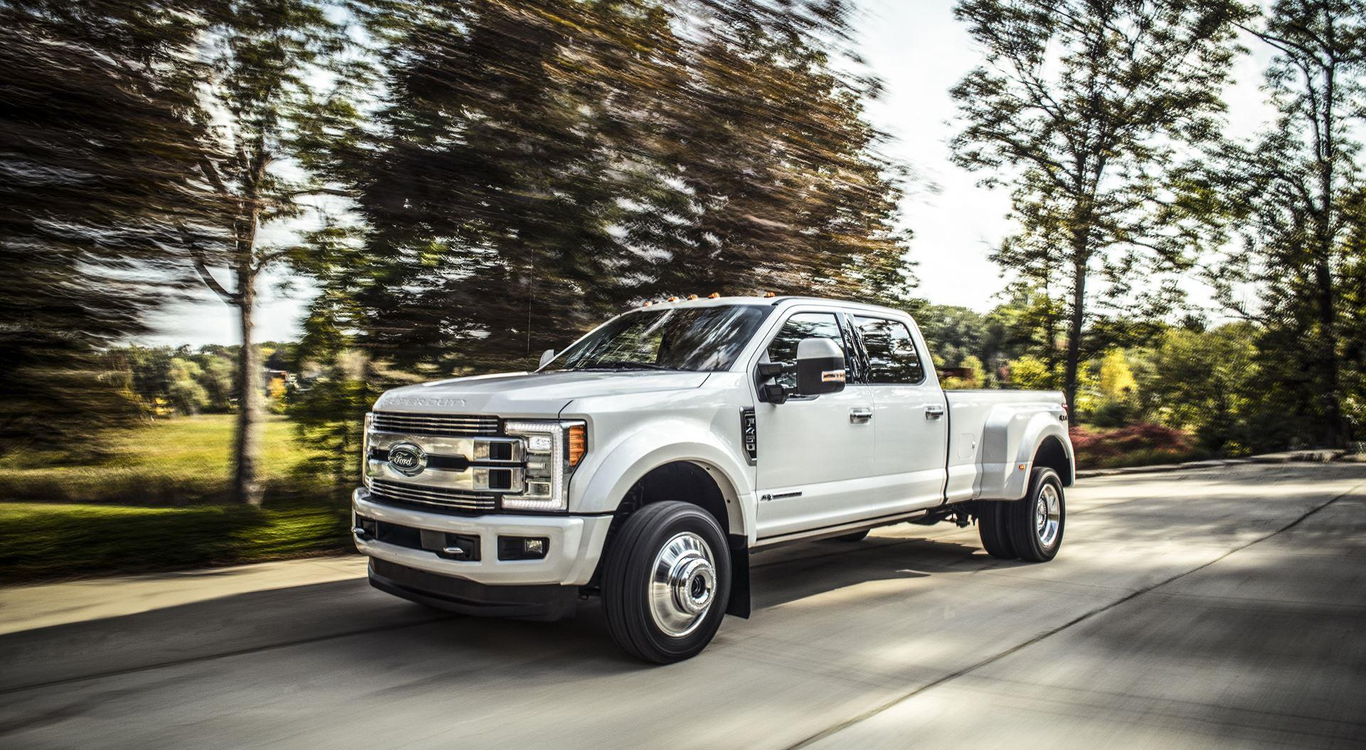 2018 Ford F-Series Super Duty Limited News and Information