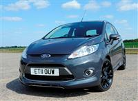 2012 Ford Fiesta Hot Metal Special Edition image.