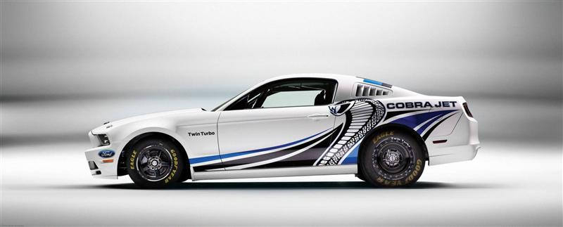 2013 Ford Mustang Cobra Jet Twin-Turbo Concept
