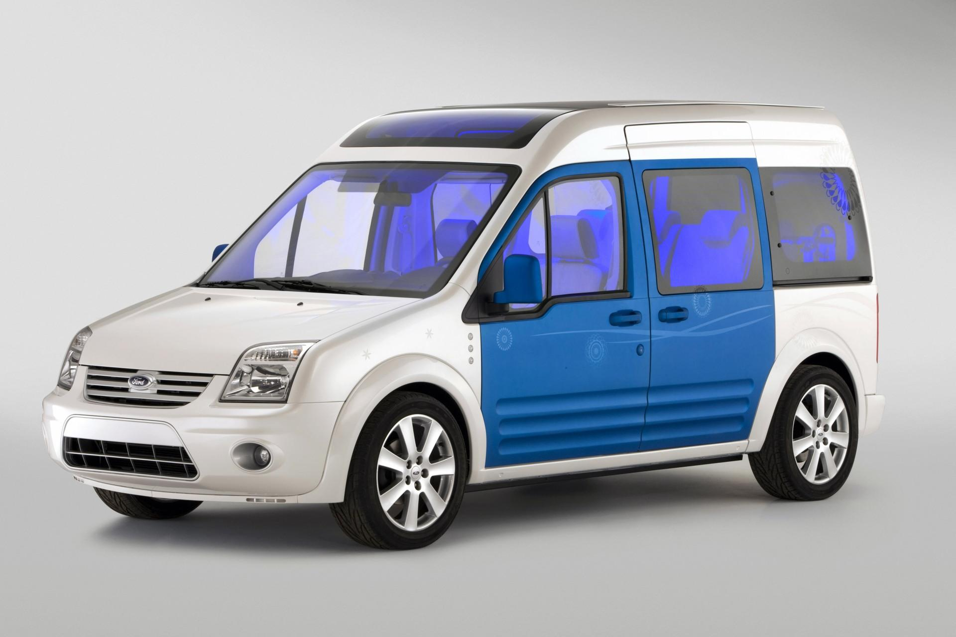 2010 ford transit connect family one concept news and information. Black Bedroom Furniture Sets. Home Design Ideas