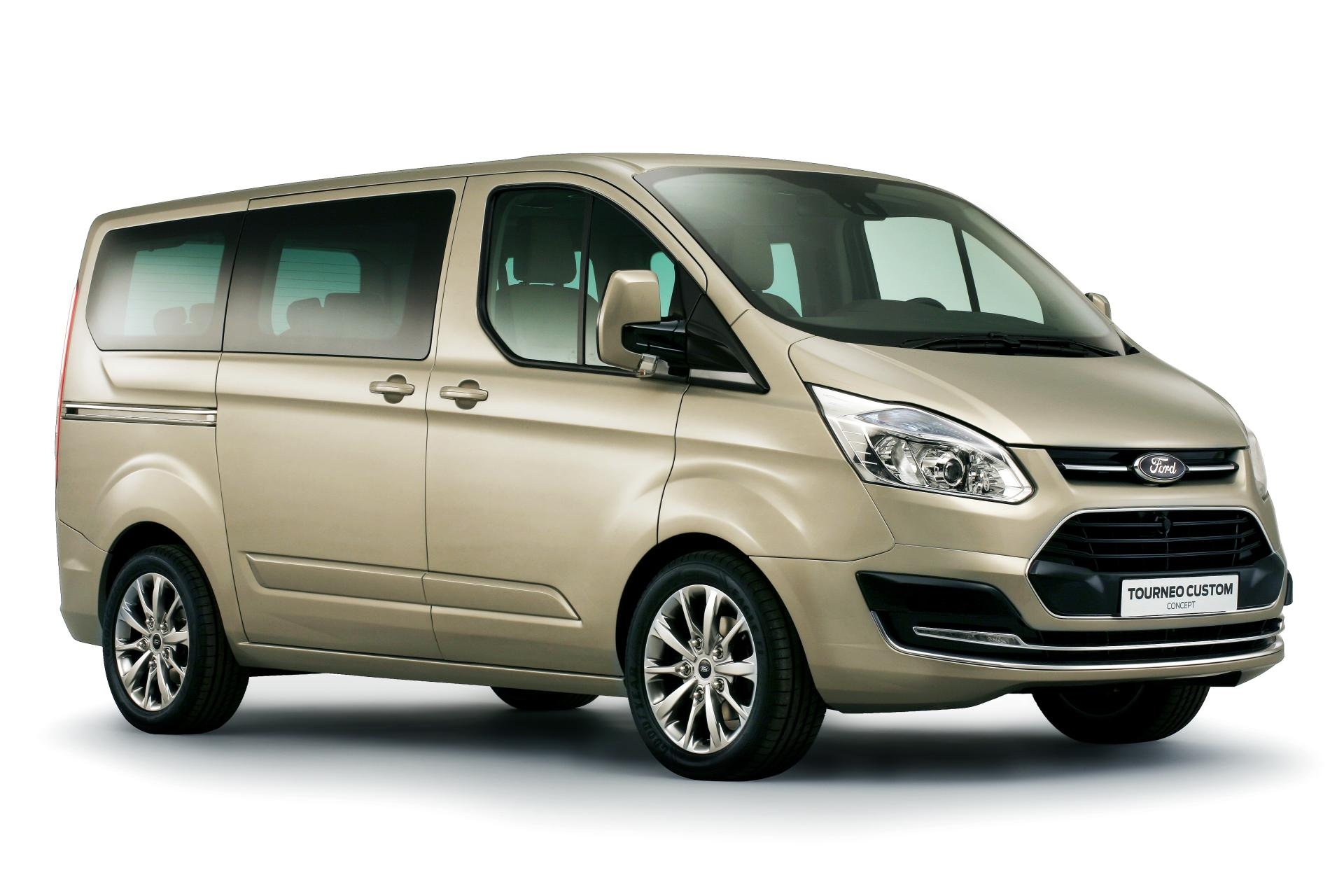2012 Ford Tourneo Custom Concept Technical Specifications