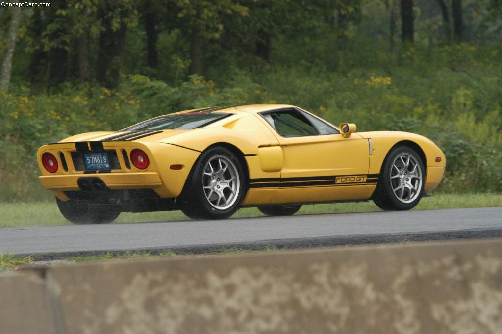 Auction Results and Sales Data for 2002 Ford GT