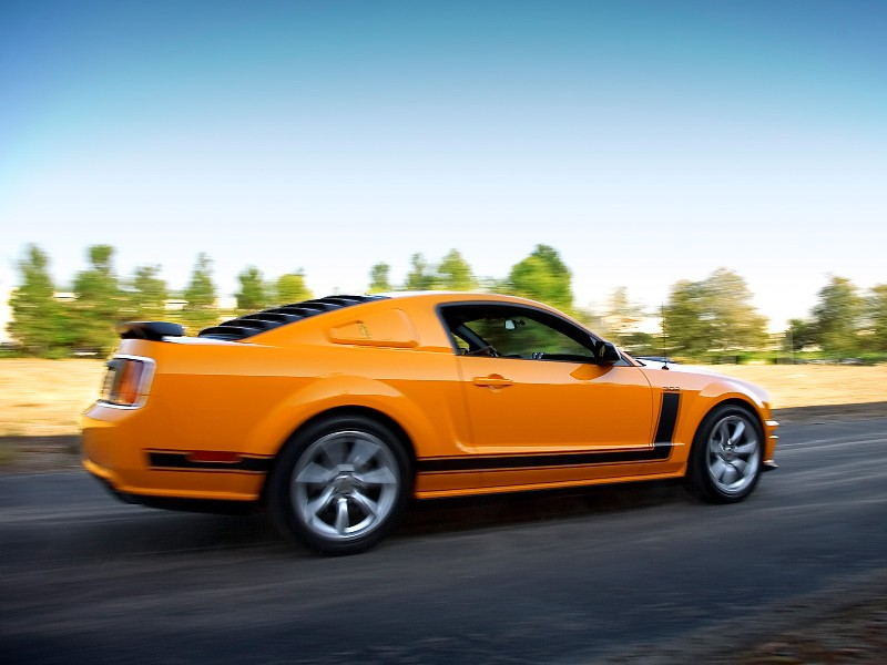 2007 Saleen Parnelli Jones Limited Edition Mustang History Pictures