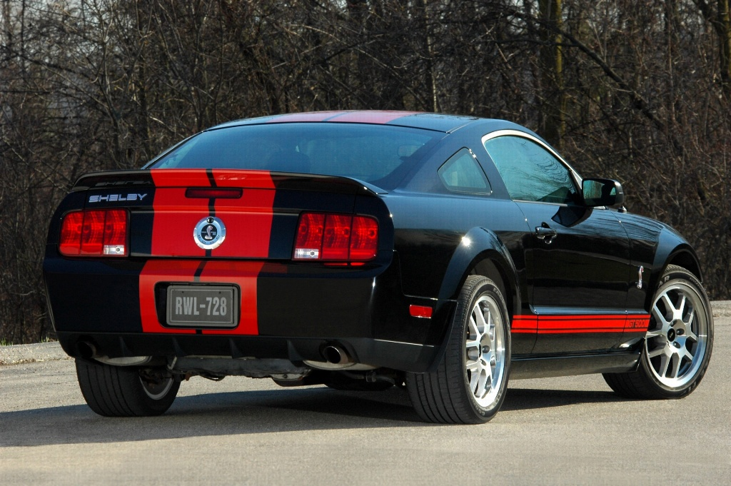 2007 Shelby Mustang Gt500 Red Stripe Pictures History