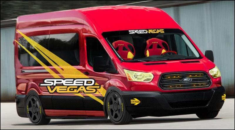 2019 Ford Transit SpeedVegas