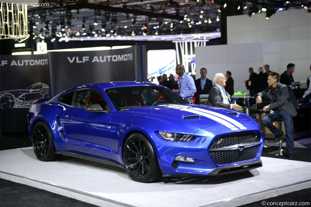 2016 VLF Mustang Rocket V8 News and Information