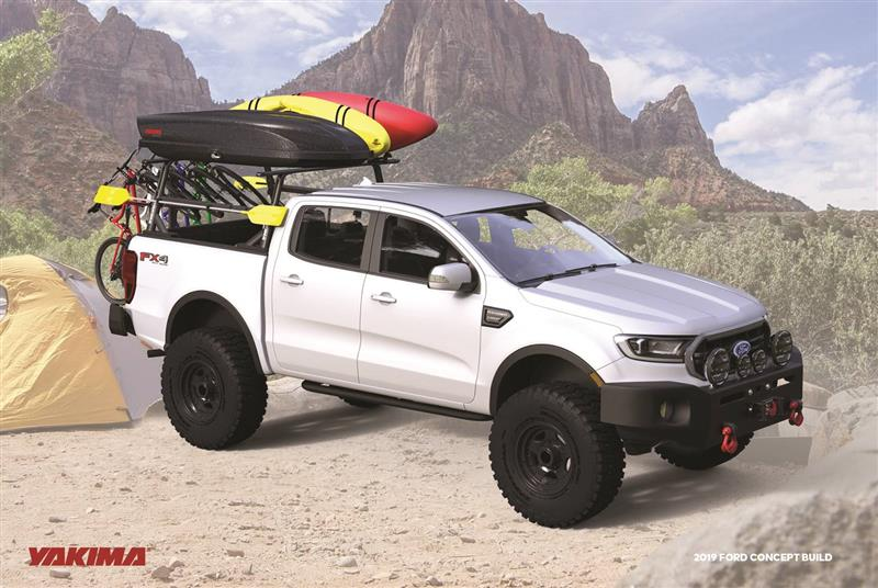 2019 Ford Ranger Yakima pictures and wallpaper