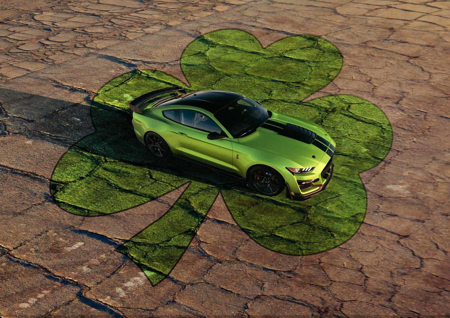 2020 Ford Mustang Shelby GT500 Grabber Lime