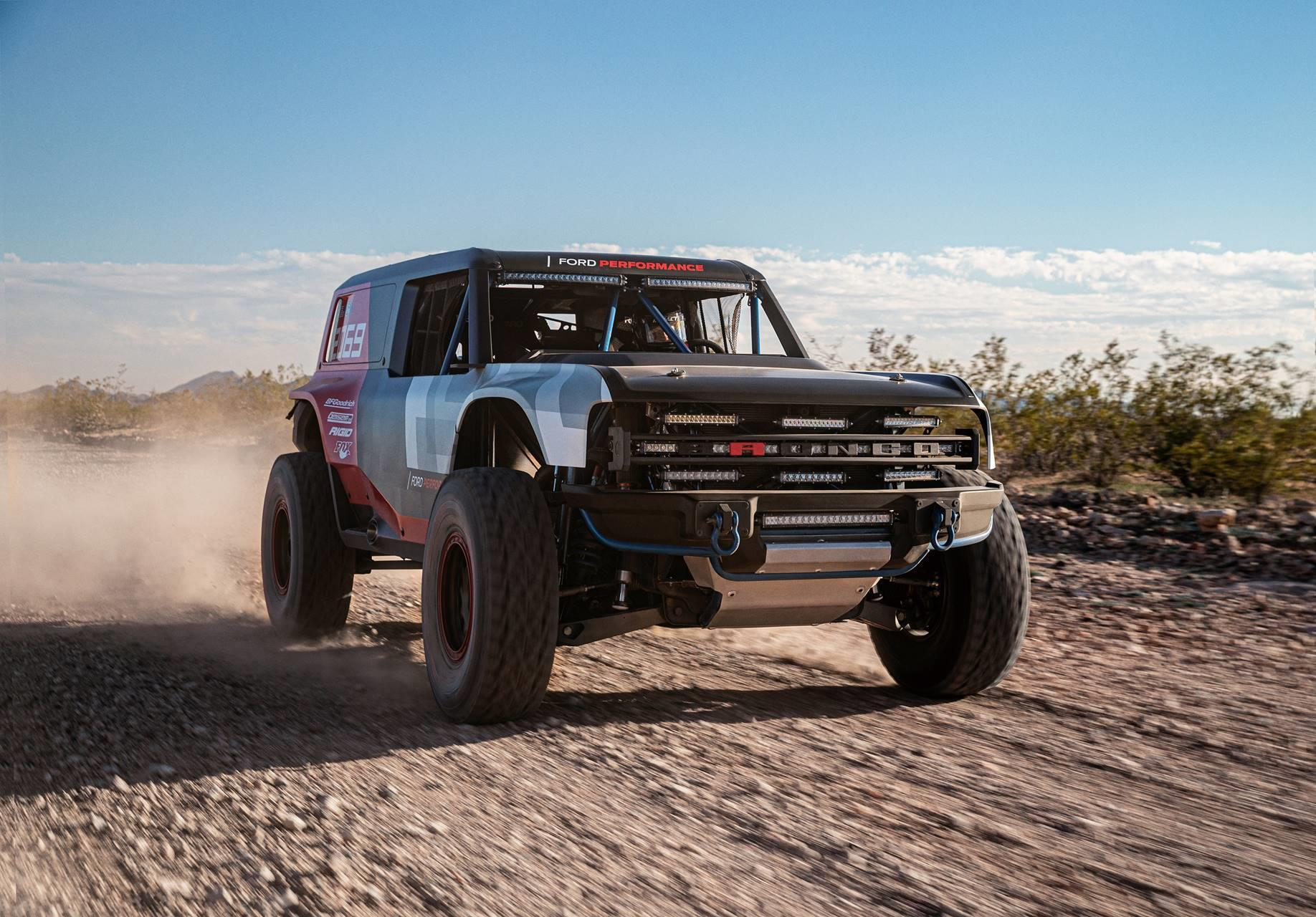 2020 Ford Bronco R Race Prototype News And Information Research And Pricing