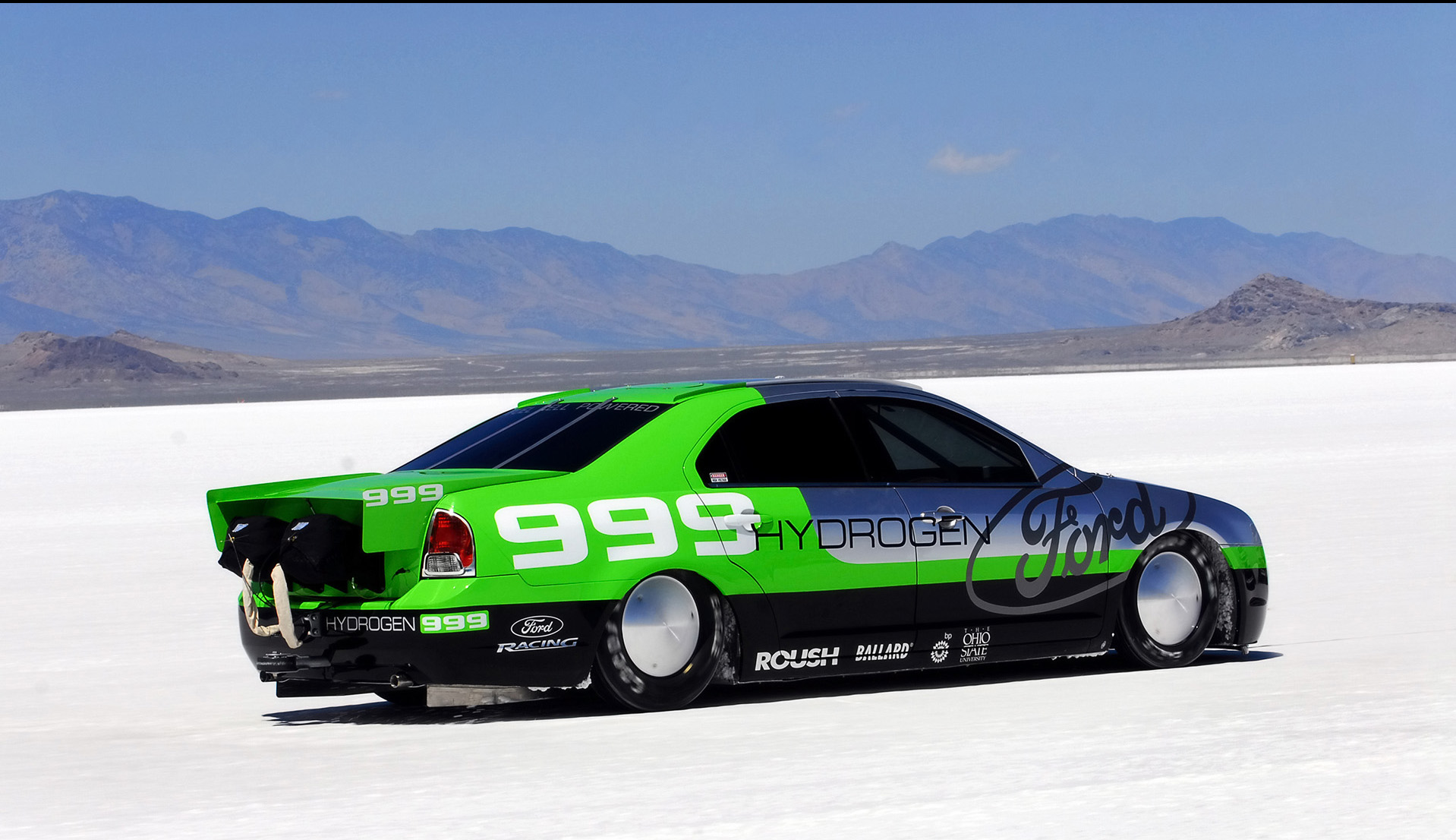 Fusion Auto Auction >> 2008 Ford Fusion Hydrogen 999 Land Speed Record News and Information
