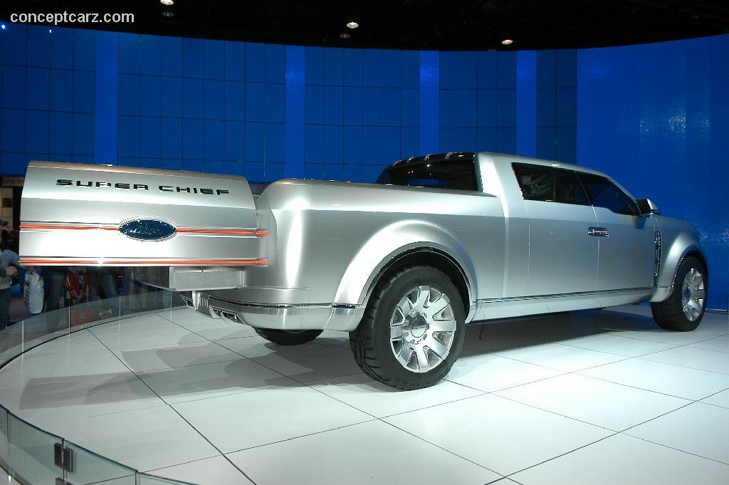Car Wallpaper >> 2006 Ford F250 Super Chief Concept Image. Photo 10 of 42
