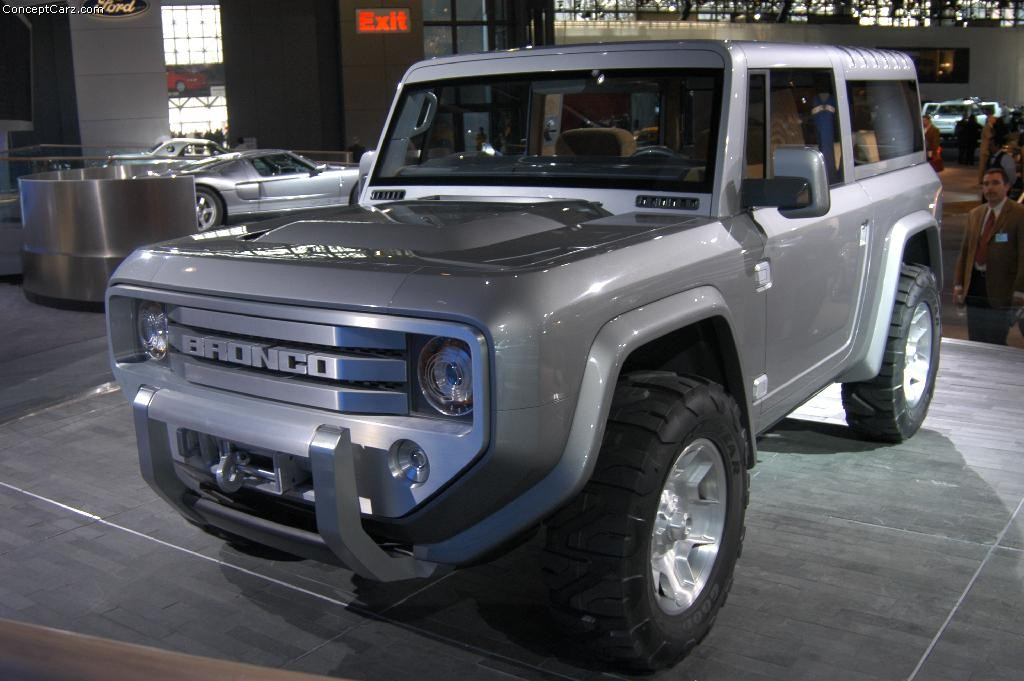2004 Ford Bronco Concept Image Httpswwwconceptcarz